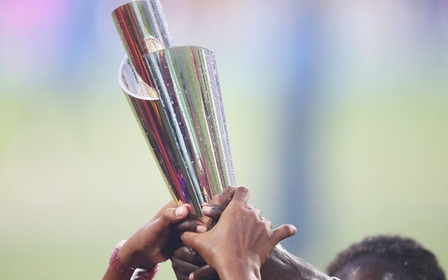 Women's World T20 trophy