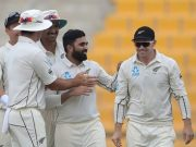 New Zealand spinner Ajaz Patel
