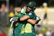 Faf du Plessis and David Miller