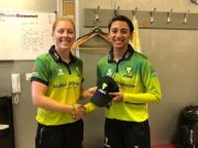 Heather Knight and Smriti Mandhana