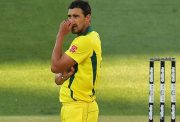 Mitchell Starc of Australi