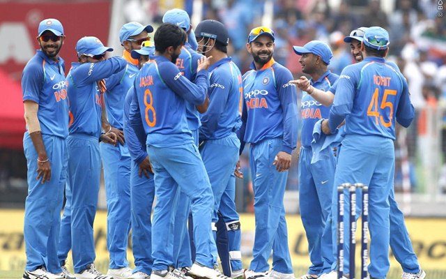 India`s 12-member team for the 1st T20I against Windies