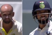 Nathan Lyon and Ishant Sharma