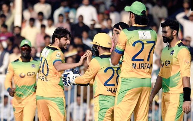 16 Pakistan players selected for the T10 League