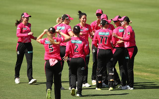 WBBL 2018-19, Match 38, Adelaide Strikers vs Sydney Sixers