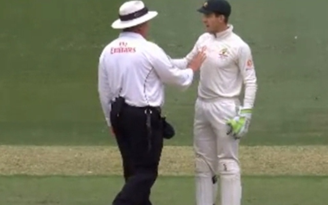 Rishabh Pant gives Tim Paine a taste of his own medicine