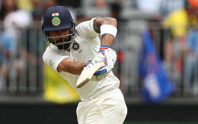 India captain Virat Kohli blunts the Australia attack