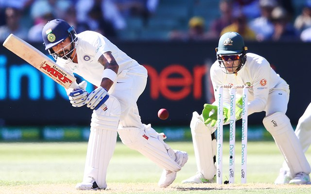 India tightens grip on Test despite Cummins's six