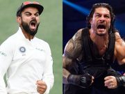 Virat Kohli and Roman Reigns