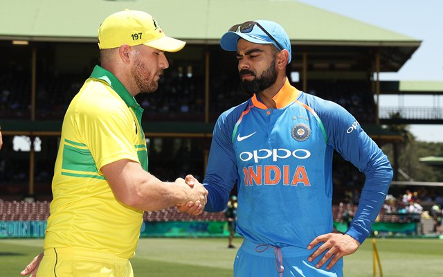 ODI Cricket LIVE! Australia vs India at the SCG
