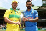 Captains Aaron Finch and Virat Kohli