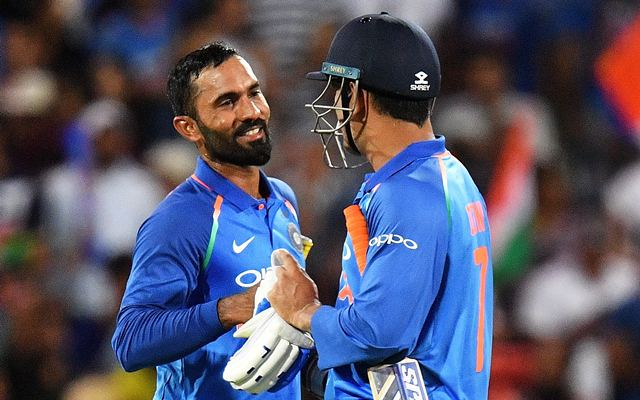 It came as a bit of a surprise'- Dinesh Karthik on batting above ...