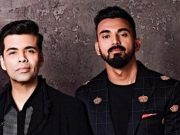 KL Rahul and Karan Johar
