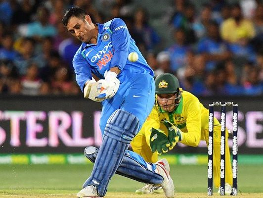 MS Dhoni of India