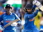 MS Dhoni and Mithali Raj