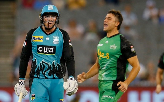 Marcus Stoinis: Twitter Reactions: Melbourne Stars Stunningly Defend 134