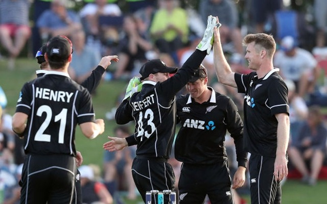 New Zealand ODI team