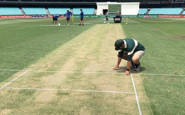 SCG pitch