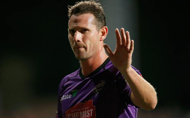 Shaun Tait of the Hobart Hurricanes