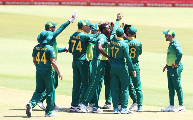 South Africa vs Pakistan - Highlights & Stats
