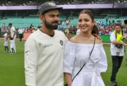 Indian Cricket Captain Virat Kohli and his wife Anushka Sharma