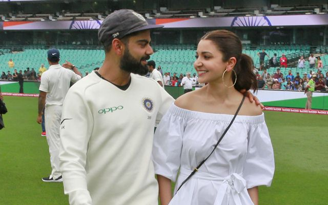 Image result for anushka sharma for london test match