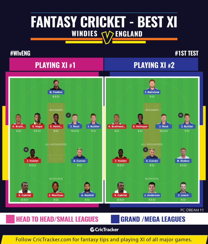 WIvENG-first-Test-fantasy-Tips-Windies-vs-England-1st-Test