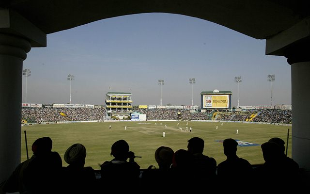 Photos Of Pakistani Cricketers Removed From HPCA Stadium