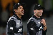 Ross Taylor and Lockie Ferguson