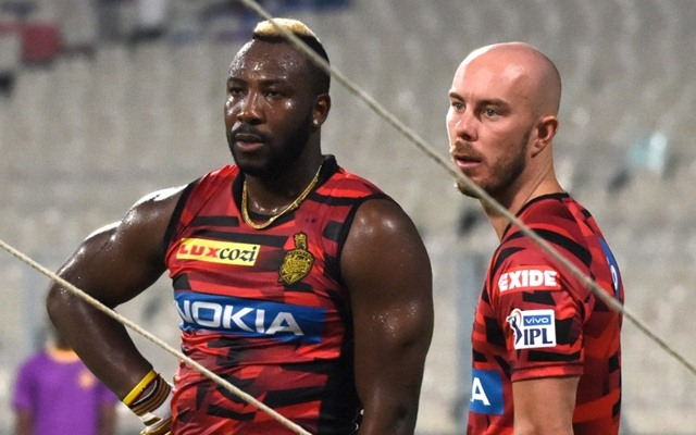 Andre Russell and Chris Lynn