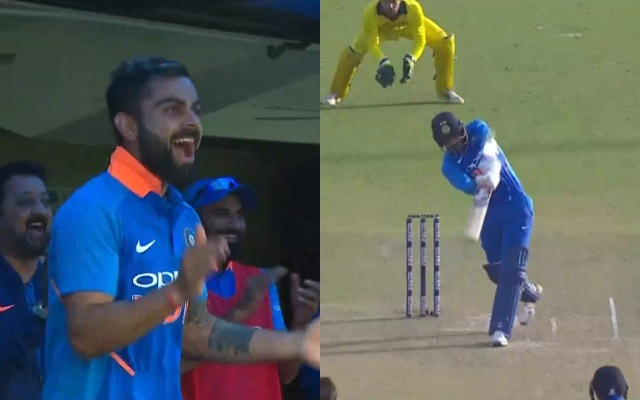 Kohli's reaction