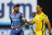 MS Dhoni and Shreyas Iyer