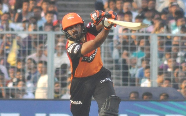 IPL 2020: SRH's Vijay Shankar ruled out of remainder of the tournament