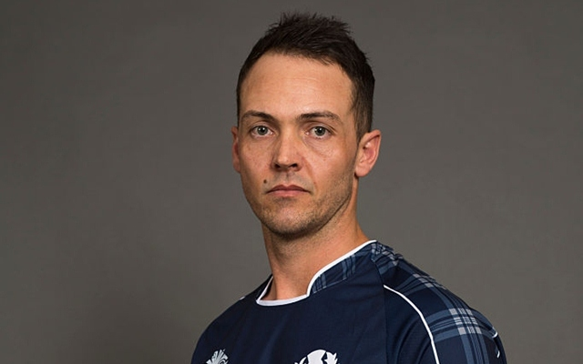 Scotland Cricketer Con de Lange Passes Away