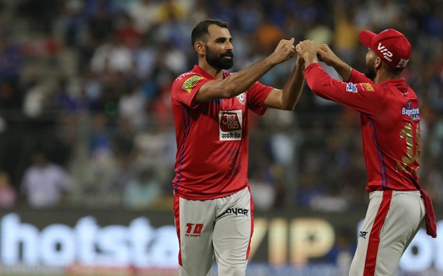 Mohammed Shami was the Kings XI Punjab's Best bowler last year