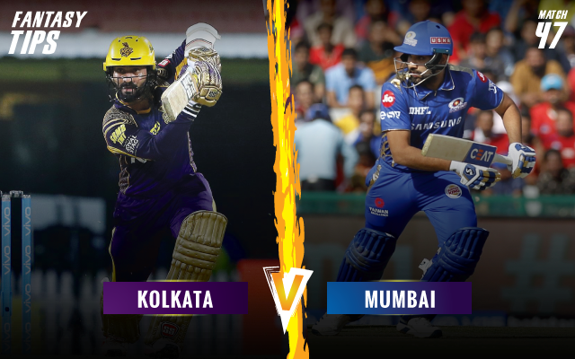 ipl-2019-KKRvMI-fantsay-tips-Kolkata-Knight-Riders-vs-Mumbai-Indians