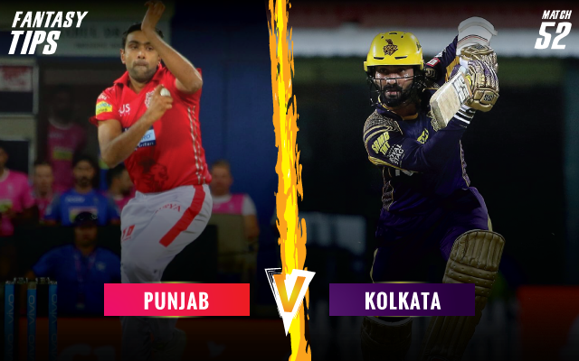 Ipl 2019 Match 52 Kxip Vs Kkr Dream11 Fantasy Cricket Tips Playing Xi Pitch Report Injury Update