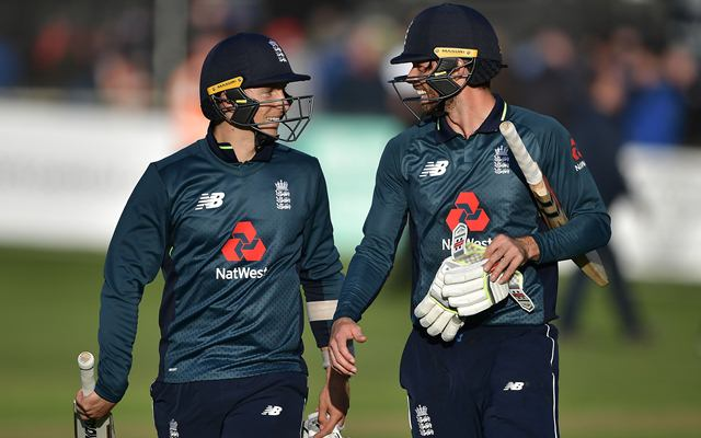 Ben Foakes and Tom Curran