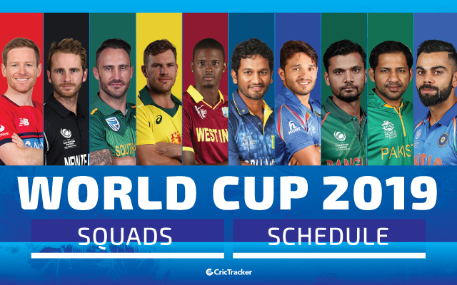 ICC Cricket World Cup 2019: Squads, Venue, Schedule, Match Dates & TimingFetaured-Image-64x40