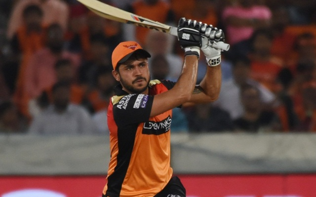 In terms of talent,Manish Pandey is Sunrisers Hyderabad Best Batsman