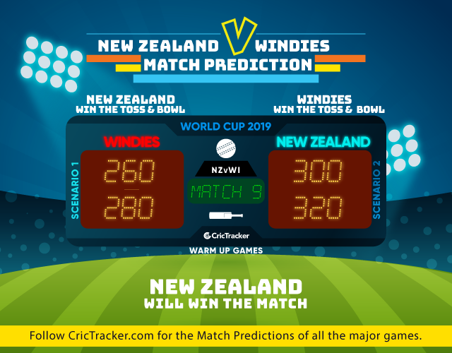 NZvWI--ICC-World-Cup-2019-Warm-up-match-match prediction-New-Zealand-vs-WIndeis