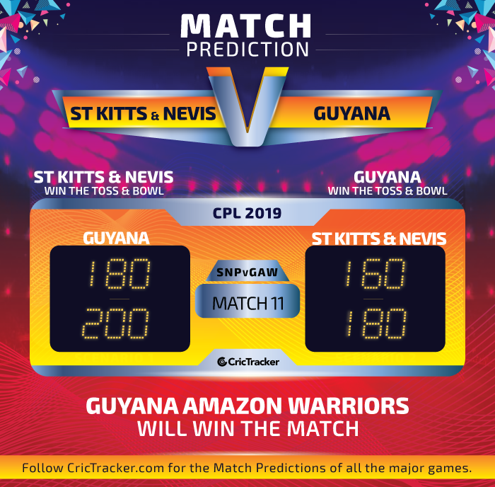 CPL-2019-SNPvGAW-match-Prediction-St-Kitts-and-Nevis-Patriots-vs-Guyana-Amazon-Warriors