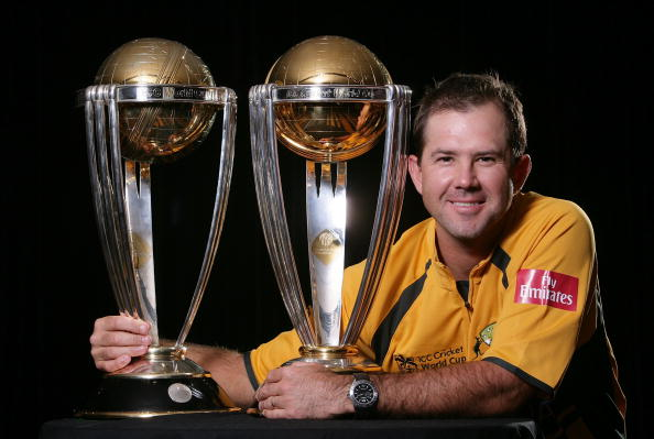 Australia won four ICC Tournaments under Ricky Ponting