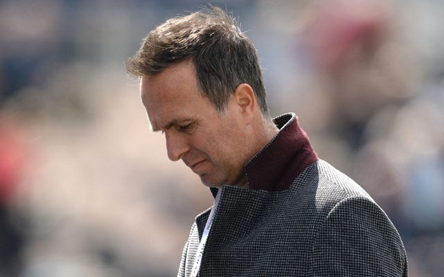 Michael Vaughan. (Photo by Popperfoto via Getty Images via Getty Images)