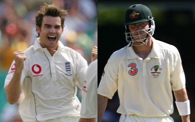 Damien Martyn and James Anderson