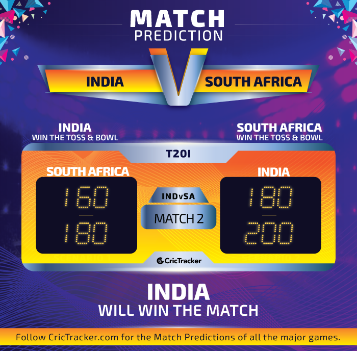 INDvSA-match-prediction-India-vs-SOuth-Africa-second-T20I