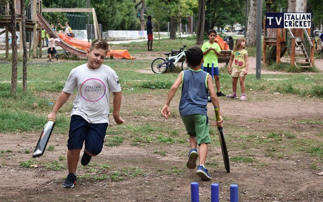 Kids Cricket in Italy