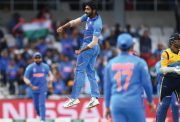 Jasprit Bumrah of India