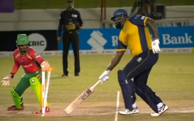 Image result for rahkeem cornwall cpl run out
