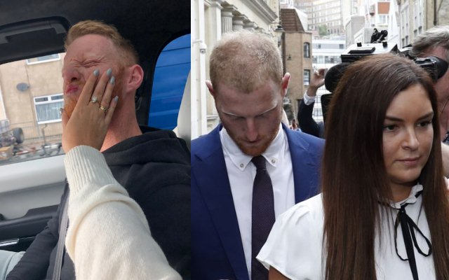 Ben Stokes' wife laughs off reports of altercation with cricketer